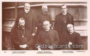 Bishop of Montgomery, Southwark, Worchester, Stephney, London, Archbishop of ...