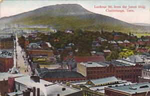 Tennessee Chattanooga Lookout Mountain From The James Building 1908
