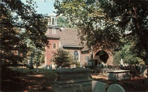 Postcard Old Swedes Church Wilmington Delaware
