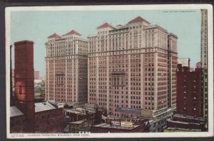 Hudson Terminal,New York,NY,Detroit Photgraphic Postcard