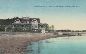 WARWICK NECK , R.I. , 1900-10s ; Senator Nelson W. Aldrich's Boat House