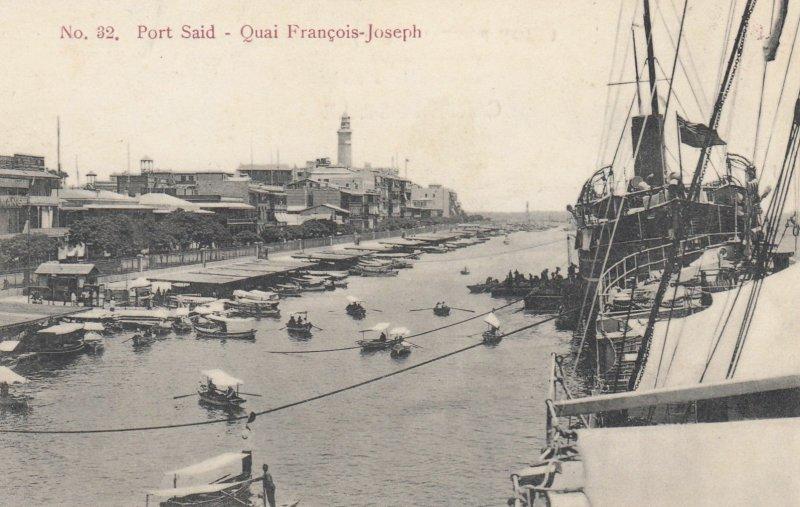 PORT SAID , Egypt , 00-10s ; Quai Francois-Joseph