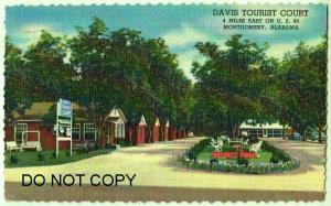 Davis Tourist Court, Montgomery Ala