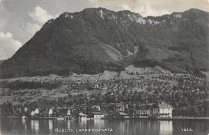 Switzerland Postcard Buochs Landunsplatz