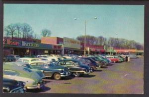 Shopping Center Hamden CT Postcard 5786