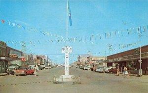 Dawson Creek British Columbia Canada Mile Zero Alaska Highway Postcard