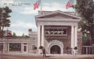 DENVER, Colorado, 1900-10s; Entrance to Elitch's Gardens