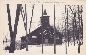 New York Moravia The Chapel In Winter-Caswasco Artvue