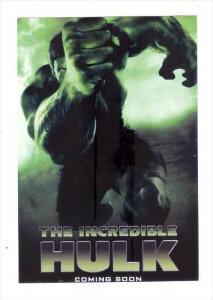Movie Advertising postcard   The Incredible HULK   # 13
