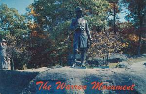 Gettysburg PA, Pennsylvania - Warren Monument on Little Round Top