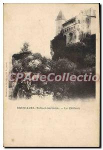 Old Postcard Bruniauel (Tarn et Garonne) Le Chateau