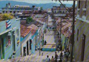 Cuba Santiago de Cube Padre Pico Street