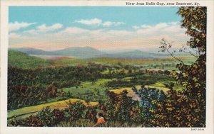 View From Halls Gap Somerset Kentucky