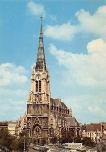 France Eglise Saint-Christophe de Tourcoing Voitures Cars Church Kirche Auto