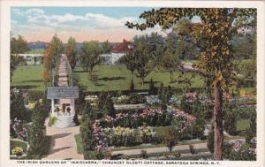 New York Saratoga Springs The Irish Gardens Of Inniscara Chauncey Olcott's Co...
