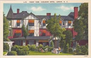 North Carolina lenoir Front View Carlheim Hotel