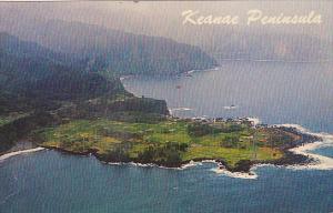 Hawaii Maui Keanae Peninsula From Window Of HATS Plane 1967