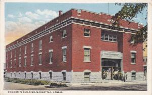 MANHATTAN, Kansas; 00-10s; Community Building
