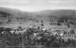 Lebanon New York Valley From Pinnacle Scenic Antique Postcard K34266