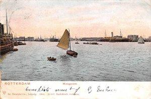 Maagezicht Rotterdam Holland 1906 Missing Stamp