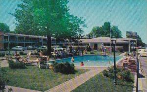 Tennessee Memphis The Beautiful New Town Park Motor Hotel with Pool