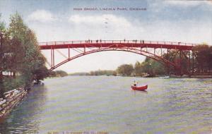 Illinois Chicago High Bridge Lincoln Park 1907
