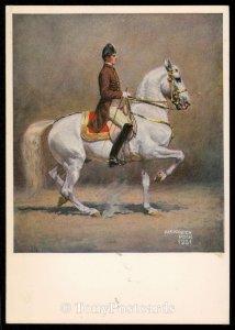 Piaffe. Spanische Reitschule, Wien - Alexander Pock 1931