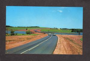 PEI Route 6 Highway Bayview Prince Edward Island Canada Carte Postale Postcard