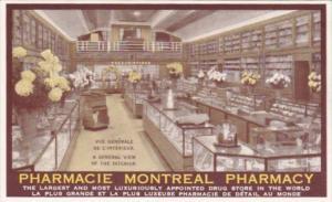 Canada Montreal Pharmacie Pharmacy Interior