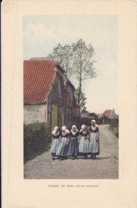 Veere, Op Weg Naar School, Zeeland, Netherlands, 1910-1920s