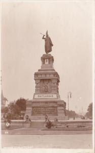 Mexico Cuauhtemoc Monument Real Photo