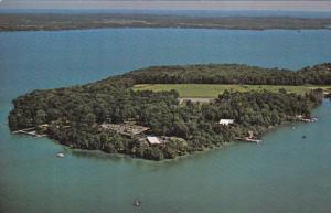 ORILLA, Ontario, Canada, 1940-1960's; Aerial View Geneva Park