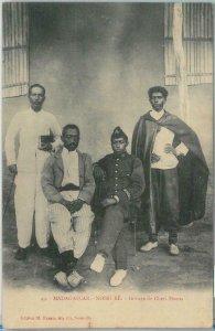 80163 -  MADAGASCAR -  Vintage Postcard - ETHNIC : Nossi-Be  HOVAS  1906