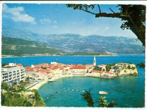 Montenegro, Budva, 1970 used Postcard