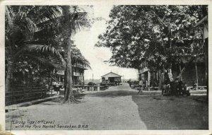 british north borneo, SABAH SANDAKAN, Lorong Riga 3rd Lane, Park Market (1921)