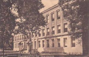 Illinois Champaign School Of Commerce University Of Illinois Albertype
