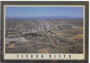 US  Unused. Sierra Vista, Arizona. Aerial View.