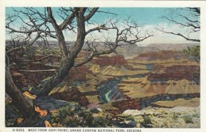 GRAND CANYON National Park, Arizona; 10-20s; West from Hopi Point, Fred Harvey