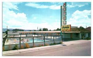 1950s/60s Sands Motel, Panguitch, UT Postcard