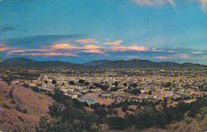 Aerial View Santa Fe New Mexico