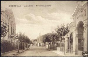 portugal, AMADORA, Avenida Amaral, CINEMA (ca. 1910)