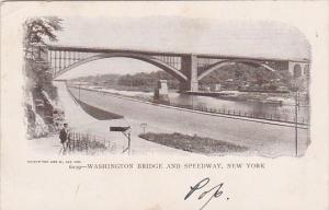 Washington Bridge And Speedway New York City New York