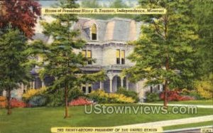 Harry Truman home in Independence, Missouri