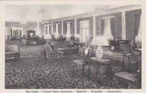 Michigan Dearborn The Dearborn Inn The Lobby Albertype