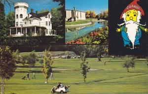 Golf Course , Granby , Quebec  , Canada , 40-60s