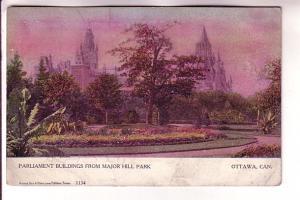 Parliament Buildings, Ottawa, Ontario, Warwick Bros. 1134,