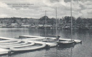 Boat Docks At Camp Texlake Spicewood Texas Artvue