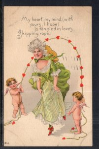 Woman Skipping Rope,Angles,Romance