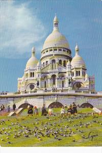 France Paris La Basilique du Sacre-Coeur de Montmartre