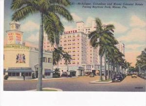Florida Miami McAllister Columbus &  Miami Colonial Hotels
